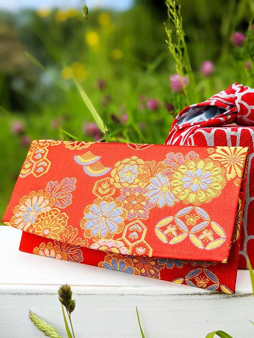 Kyoto Wallet - Matsuri Red