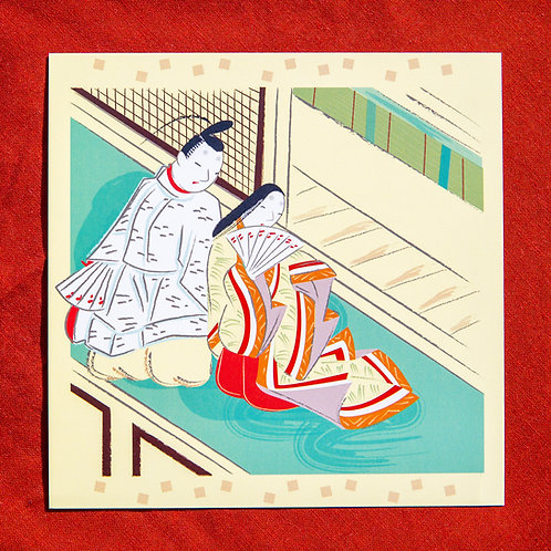 Zusetsu Genji Postcard Pack
