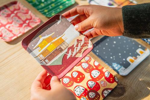 Kyoto Washi Paper Tray - Kinkakuji