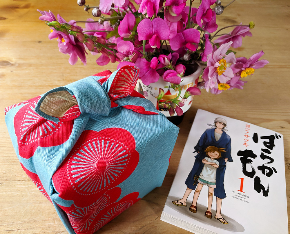 origami paper Japan Kyoto Etsy knot wrap furoshiki bag wrapping cloth gift