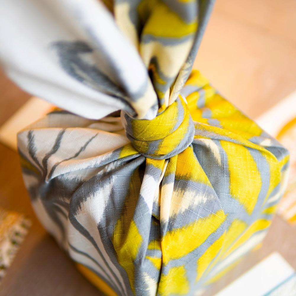 Japan Kyoto Etsy knot wrap furoshiki gift wrap wrapping cloth.
