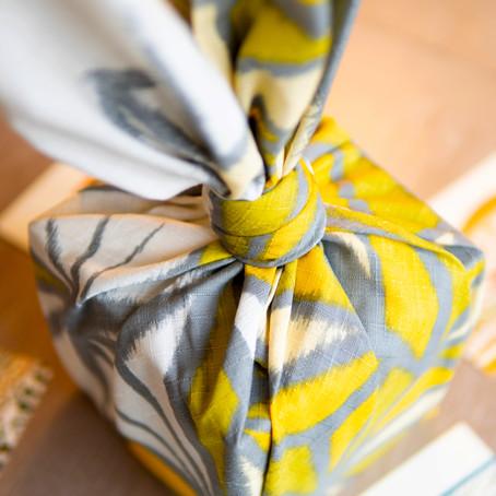 How to make beautiful leaf wrap