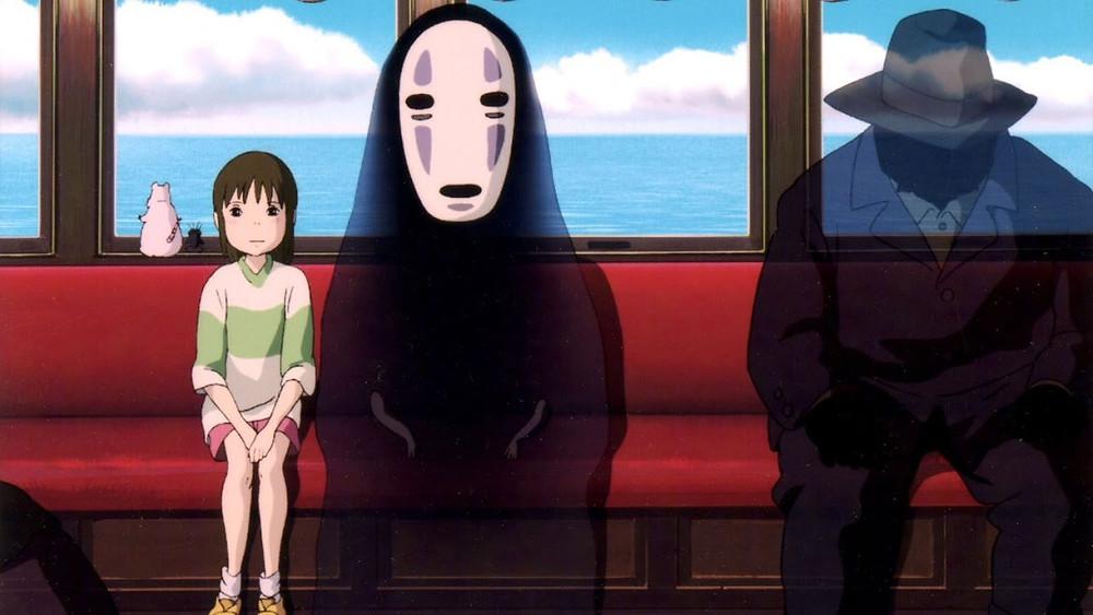 Ghibli Studios, Spirited Away, train, No Face, Chiharu, Zusetsu Store