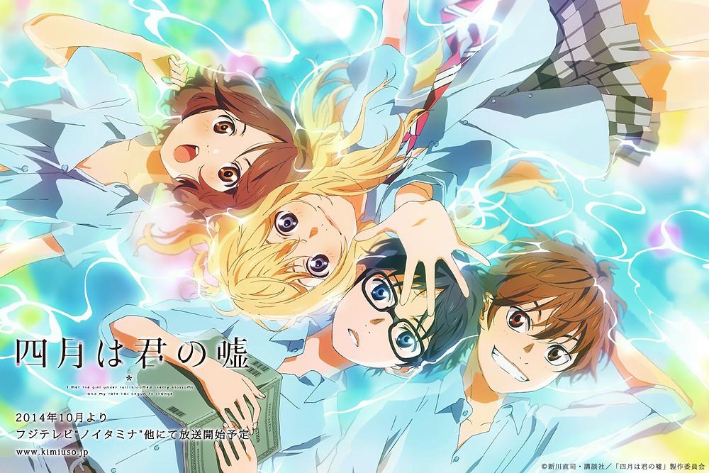 Your Lie in April, anime, Miyazaki, Ghibli