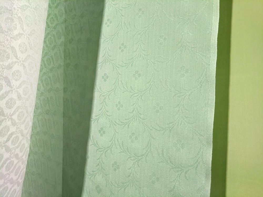 Japan Heian silk textile furoshiki London