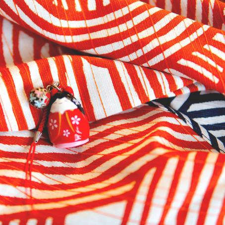 Our Kyoto furoshiki textiles