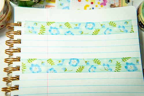 Washi Tape from Japan - Baby Blue Eyes