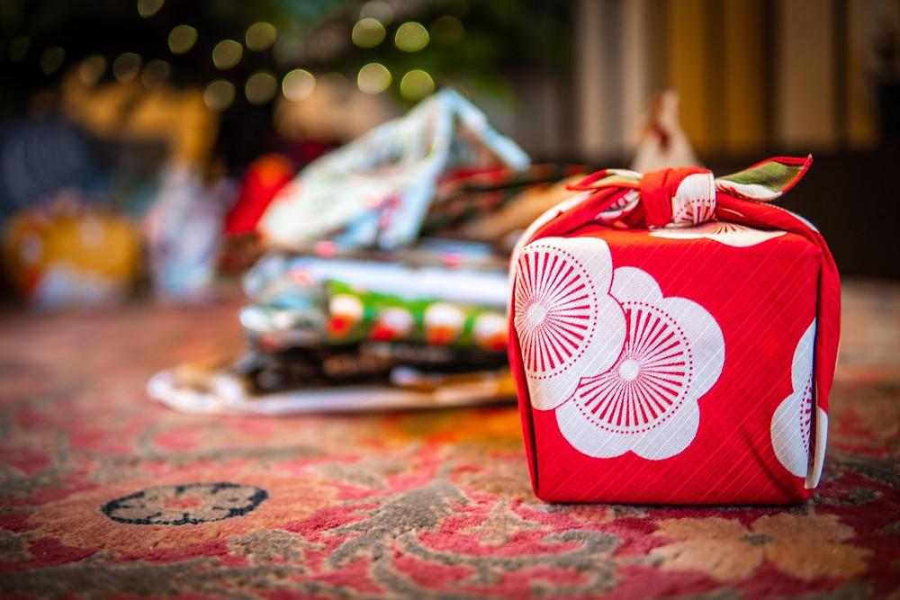 Zusetsu furoshiki gift wrap fabric wrapping