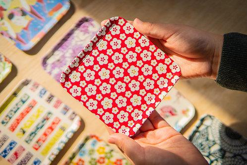 Kyoto Washi Paper Tray - Ume