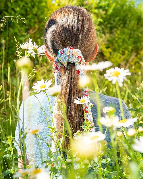 Mini Bouquet furoshiki pony tail hair tie