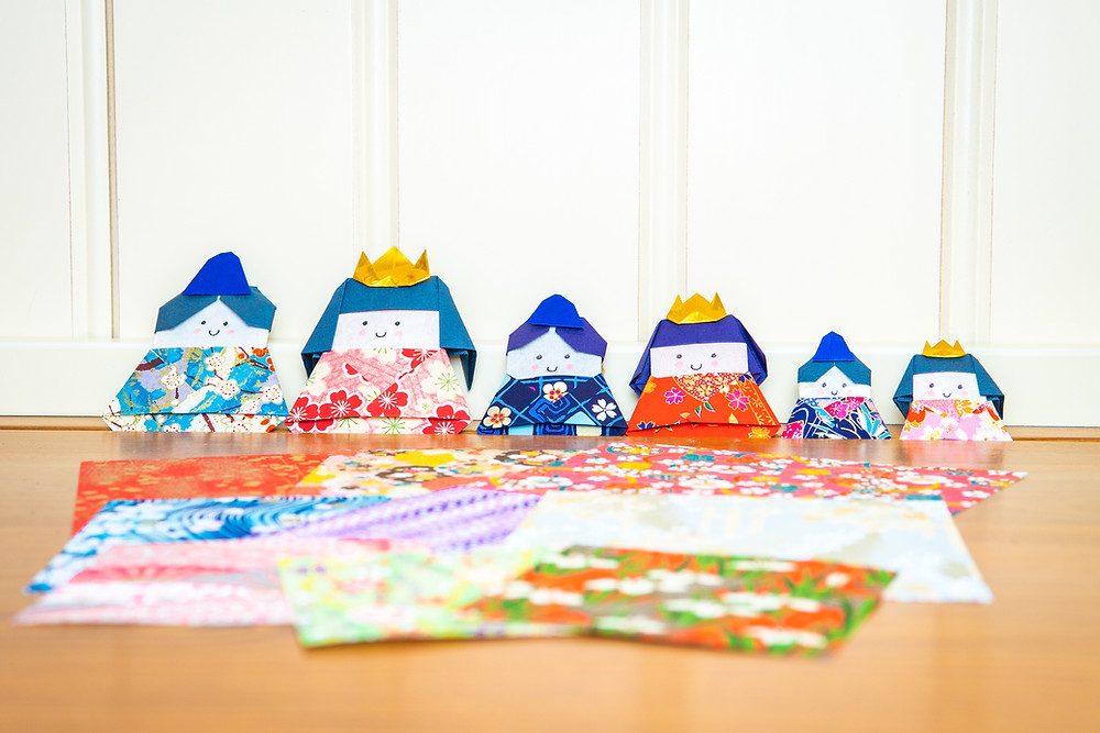 Zusetsu origami paper washi Japanese online store gifts