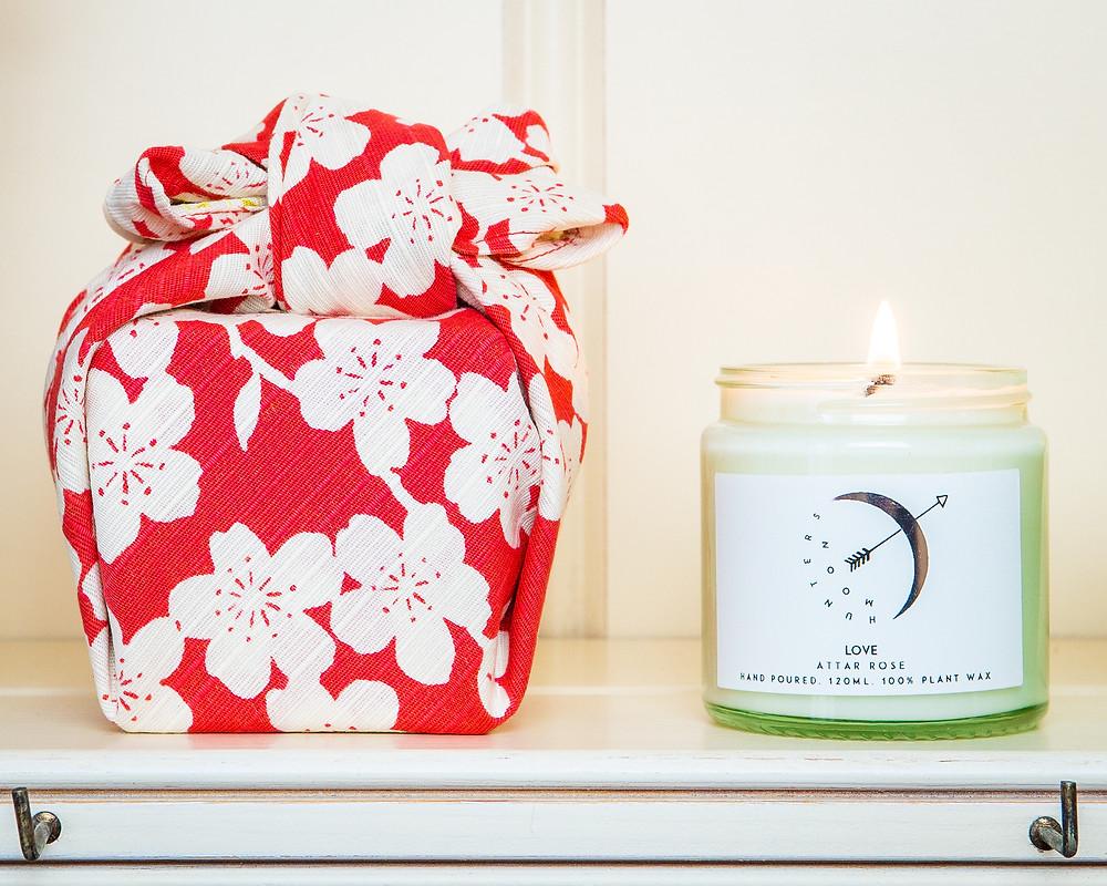 Zusetsu furoshiki giftwrap gift-wrapping fabric wrap present eco friendly