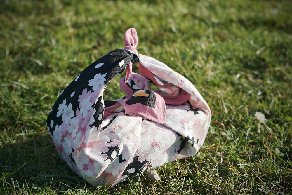 bento, picnic, food, lunchbox, lunch, Zusetsu furoshiki, online event