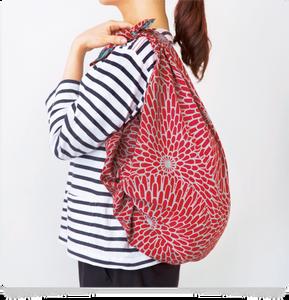 Japan Kyoto Etsy knot wrap furoshiki bag wrapping cloth