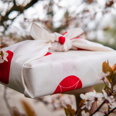 How to Make a Simple Furoshiki Gift Wrap