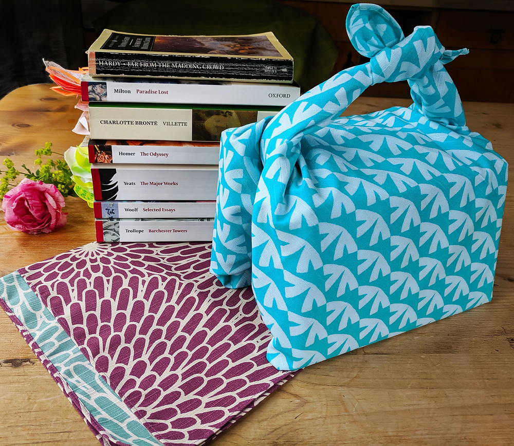 Japan Kyoto Etsy knot wrap furoshiki gift wrap wrapping cloth bag