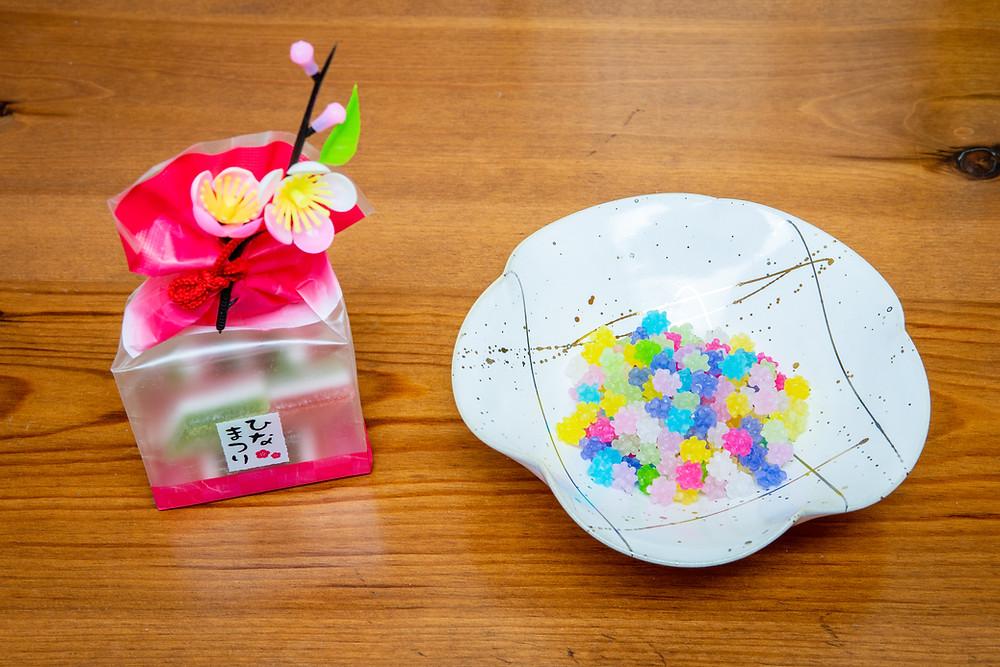 Hina Matsuri blossom Japanese sweets Zusetsu Store gifts
