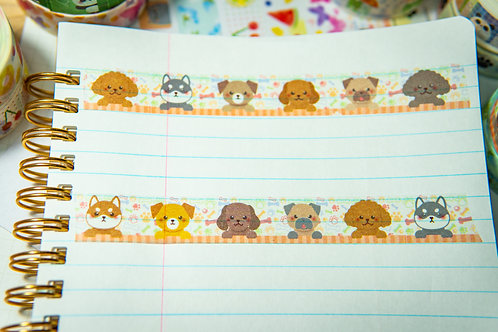 Washi Tape from Japan - Dog