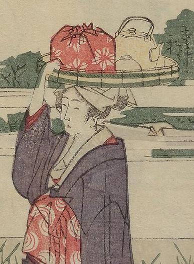 Japanese furoshiki wrap