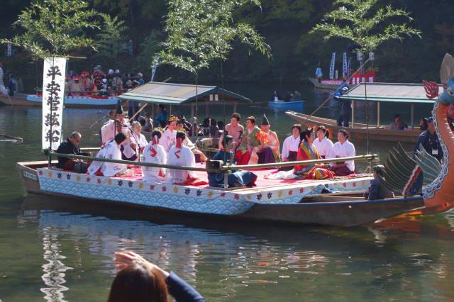 momiji festival near Kyoto