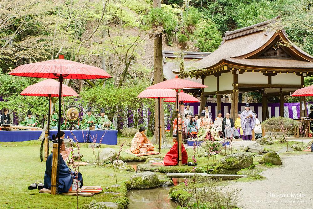 Kyoto festival matsuri Zusetsu furoshiki store online