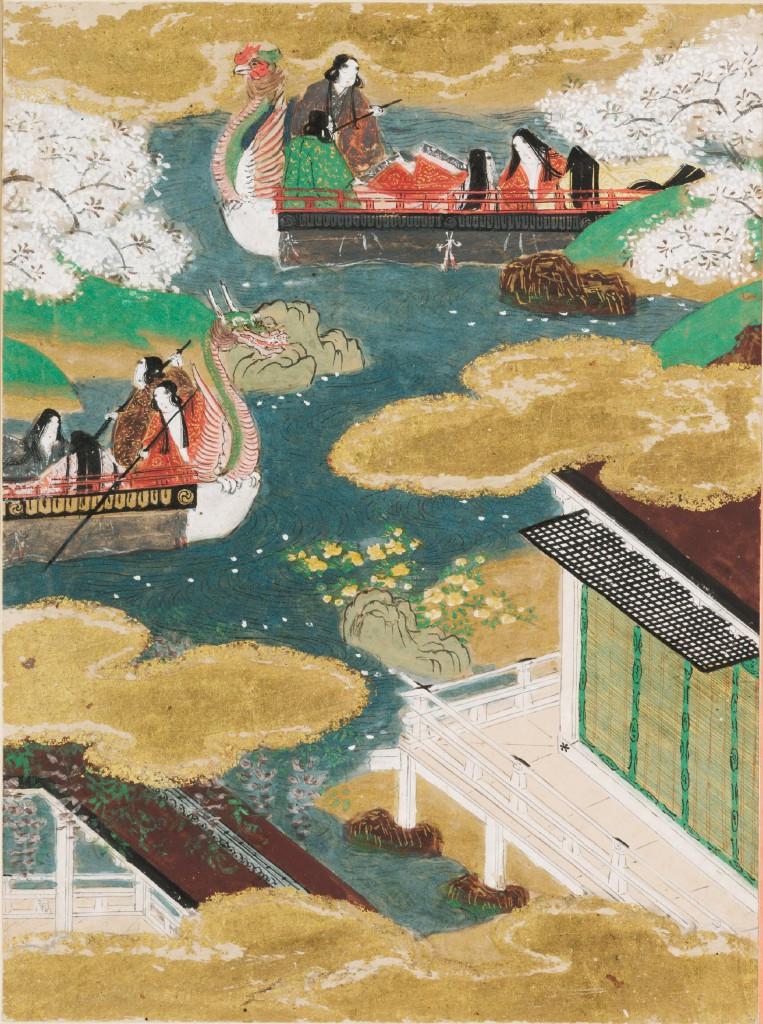 Tale of Genji boat festival