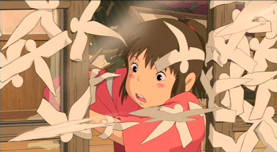 Spirited Away Ghibli animation katashiro Zusetsu store blog