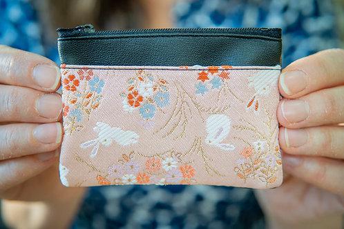 Kyoto Card Case - Pink Sienna White Hare