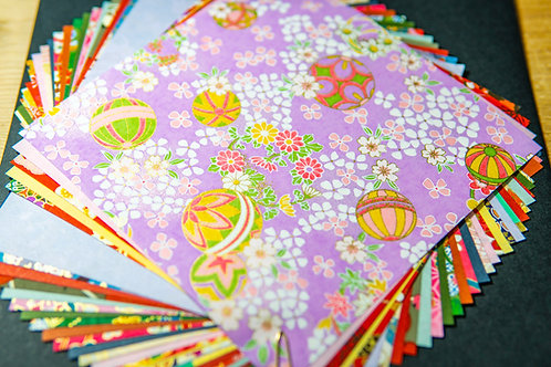 Large Chiyogami Origami Paper from Japan