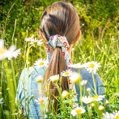 Summer Styling with Furoshiki Hair Ties!