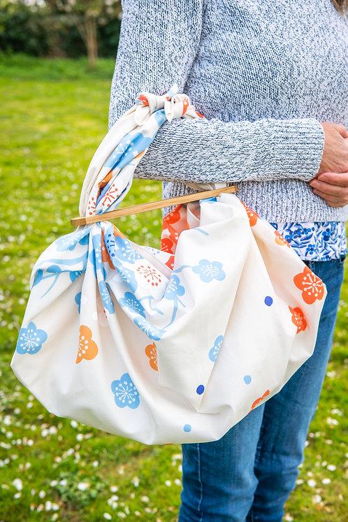furoshiki bag patchin handle