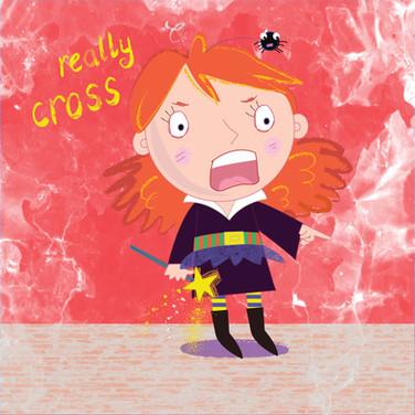 Really cross!