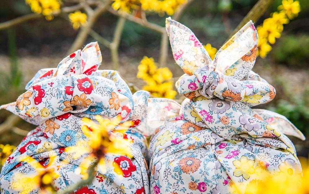 Zusetsu store furoshiki gift wrapping fabric wrap flowers