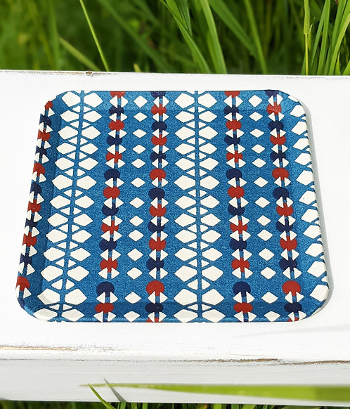 Kyoto Washi Paper Tray - Blue