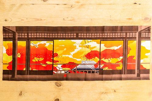Japanese Autumn Temple