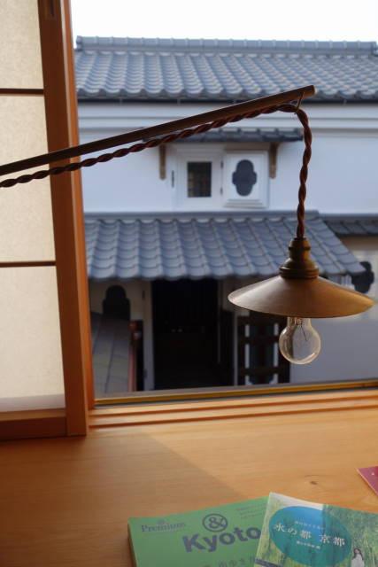 Kyoto ryokan shoji screen, Zusetsu