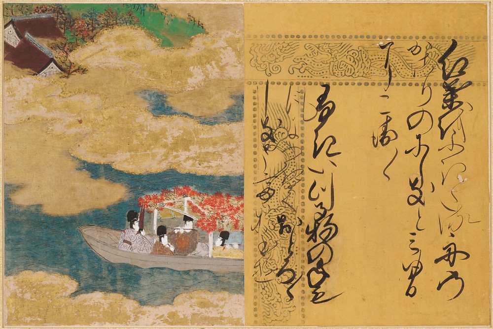 illustration from The Tale of Genji