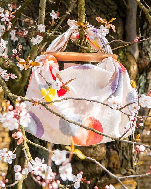 Small Patchin Handle - Japanese Nara Oak