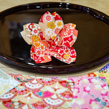 Origami: How to Make a Cherry Blossom!