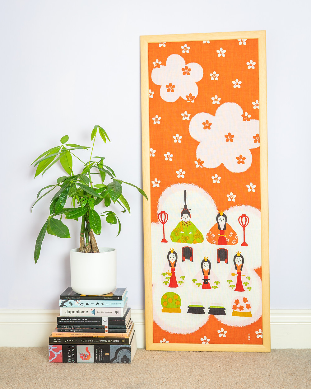 Zusetsu Store tenugui wall art wall hanging picture screen print gifts online store