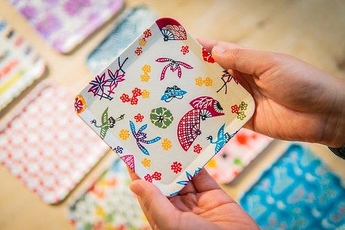 Kyoto Washi Paper Tray - Sensu