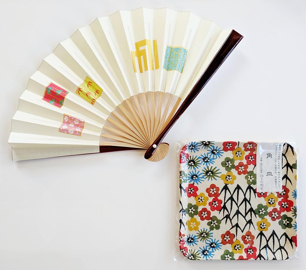 washi paper Japan Kyoto Etsy knot wrap furoshiki bag wrapping cloth gift
