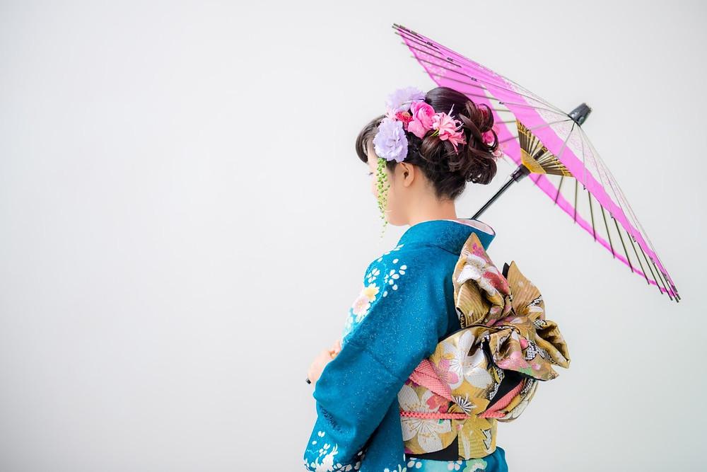 Zusetsu store kimono wrap furoshiki gift wrapping present coming of age