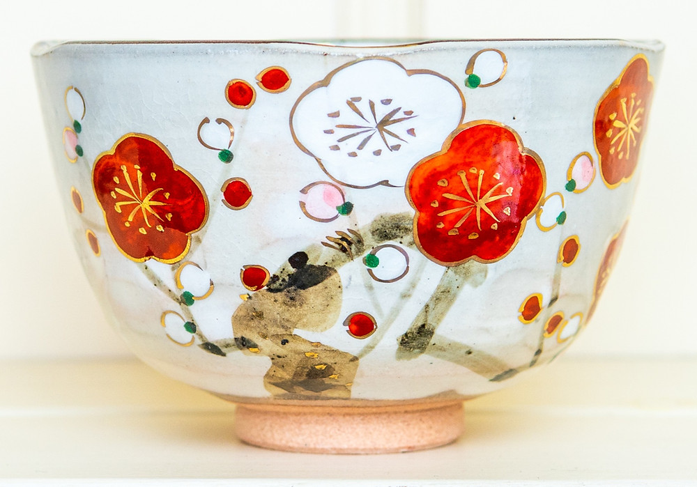 pottery, Japanese bowl, teabowl, tea ceremony, Zusetsu Store, Kyoto, Japan
