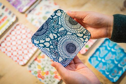 Kyoto Washi Paper Tray - Kuroi