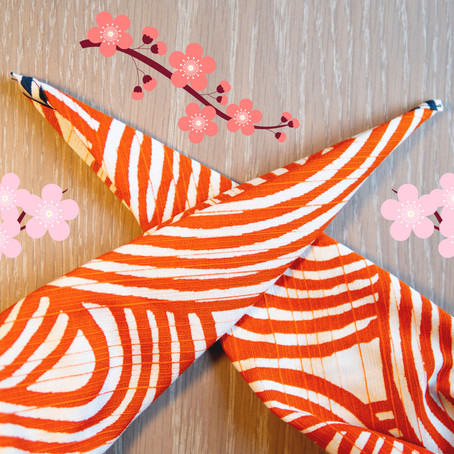 Furoshiki essentials 1: how to tie a square knot.