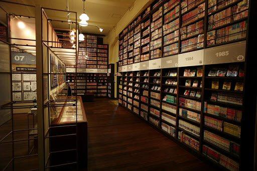 Kyoto Manga Museum, Zusetsu Store