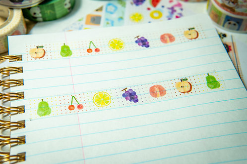 Washi Tape from Japan - Fruit