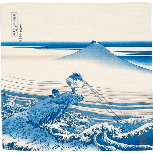 48cm Ukiyoe Small Furoshiki Kajikazawa Inkai by Hokusai