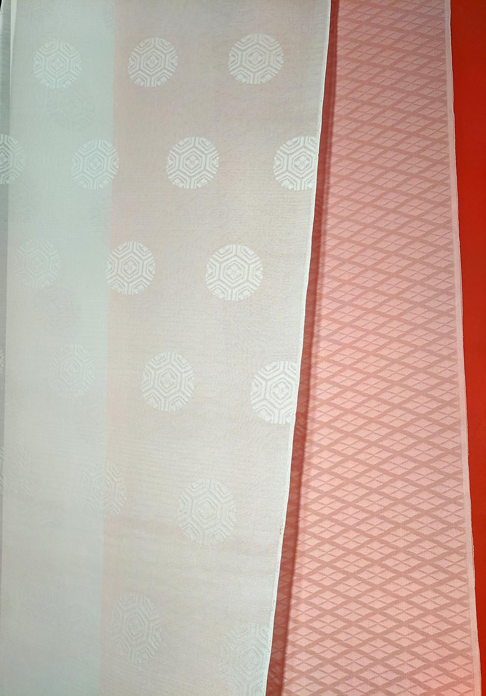 Japan Heian textile furoshiki Kyoto silk colour London